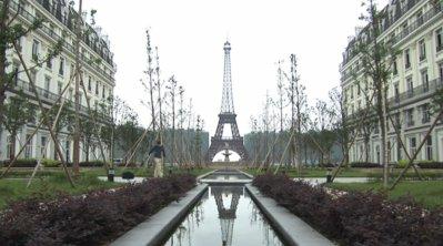 Tianducheng: it really does look like Paris.