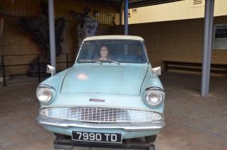 The Weasley's car