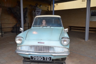 The Weasley's car
