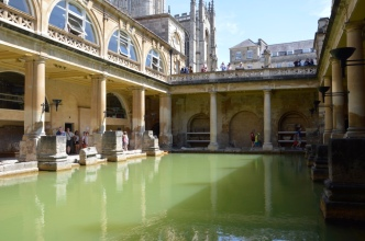 Another shot of the baths