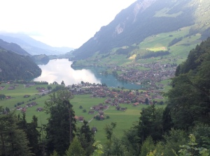 The first view of Switzerland